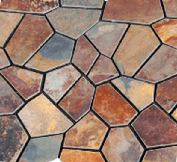 crazy paving KAKADU random stone paving on mesh (2)