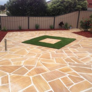 teakwood crazy pavers melbourne sydney